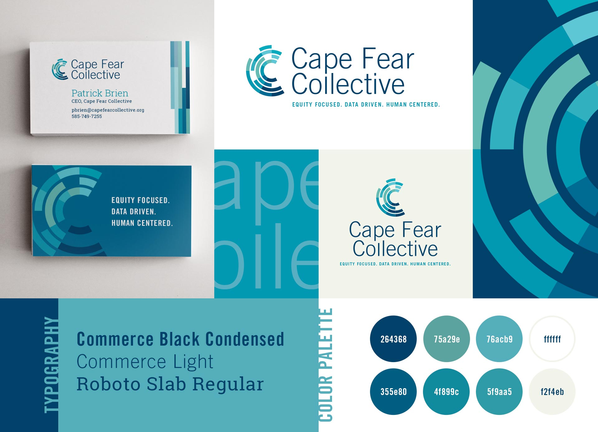 Cape Fear Collective - Brand Identity by Springer Studios, Wilmington, NC
