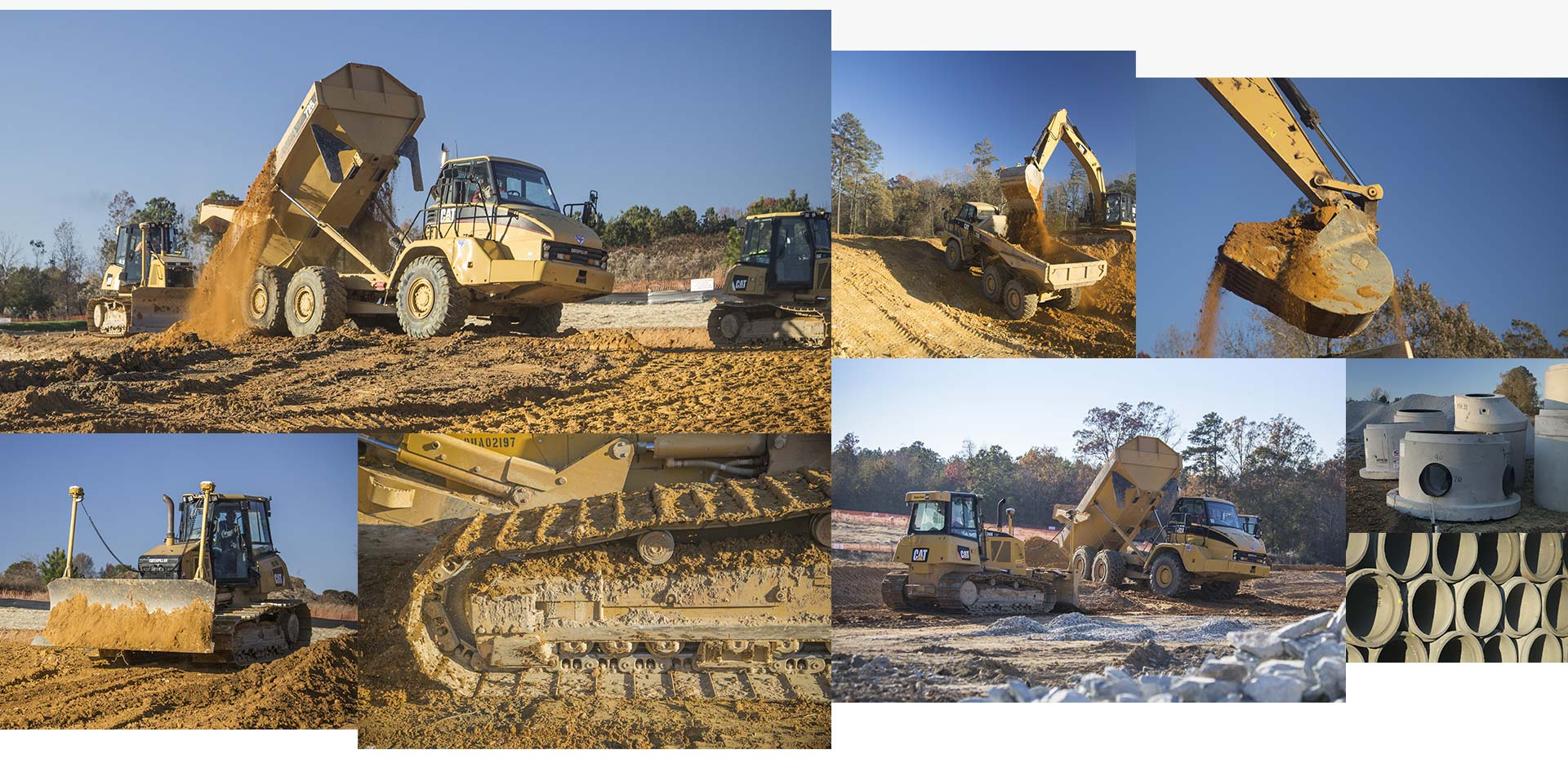 Baxter Johnson Site Contractors - Website Design by Springer Studios, Wilmington, NC