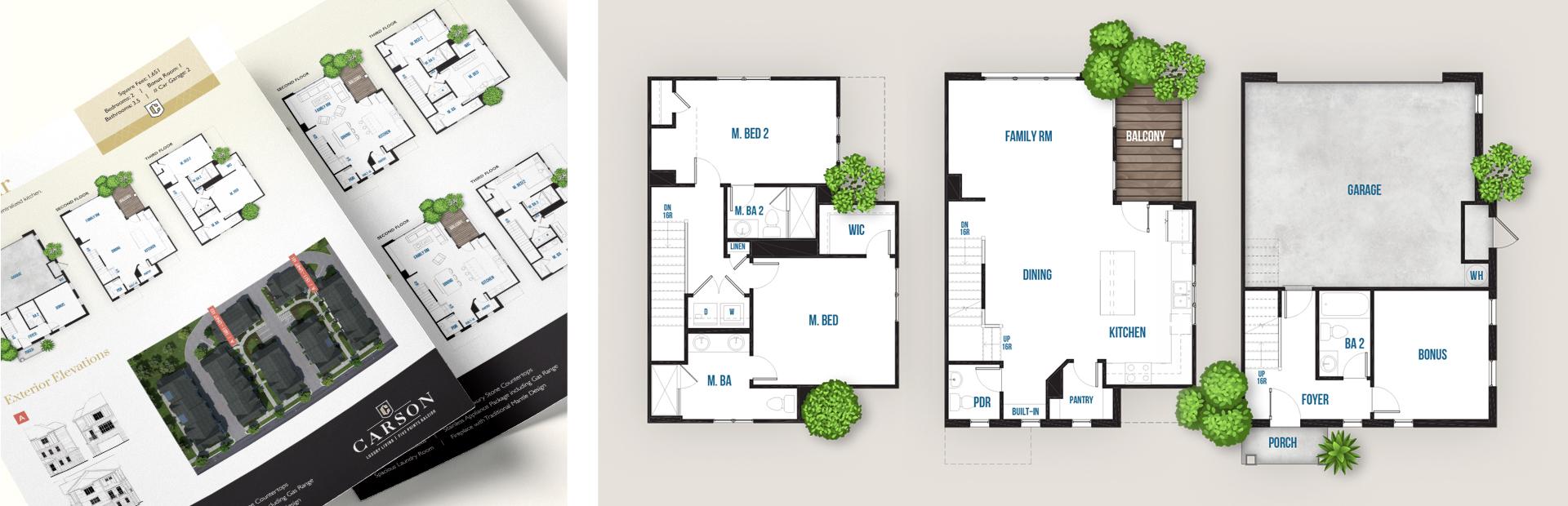 Compass Pointe - Print Marketing by Springer Studios, Wilmington, NC