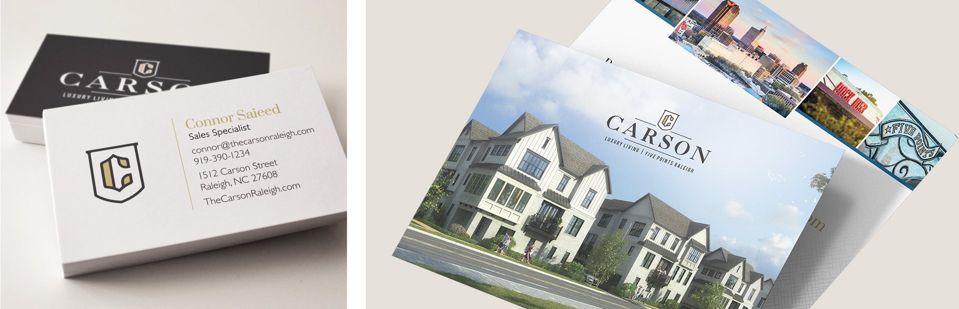 The Carson - Print Marketing by Springer Studios, Raleigh, NC