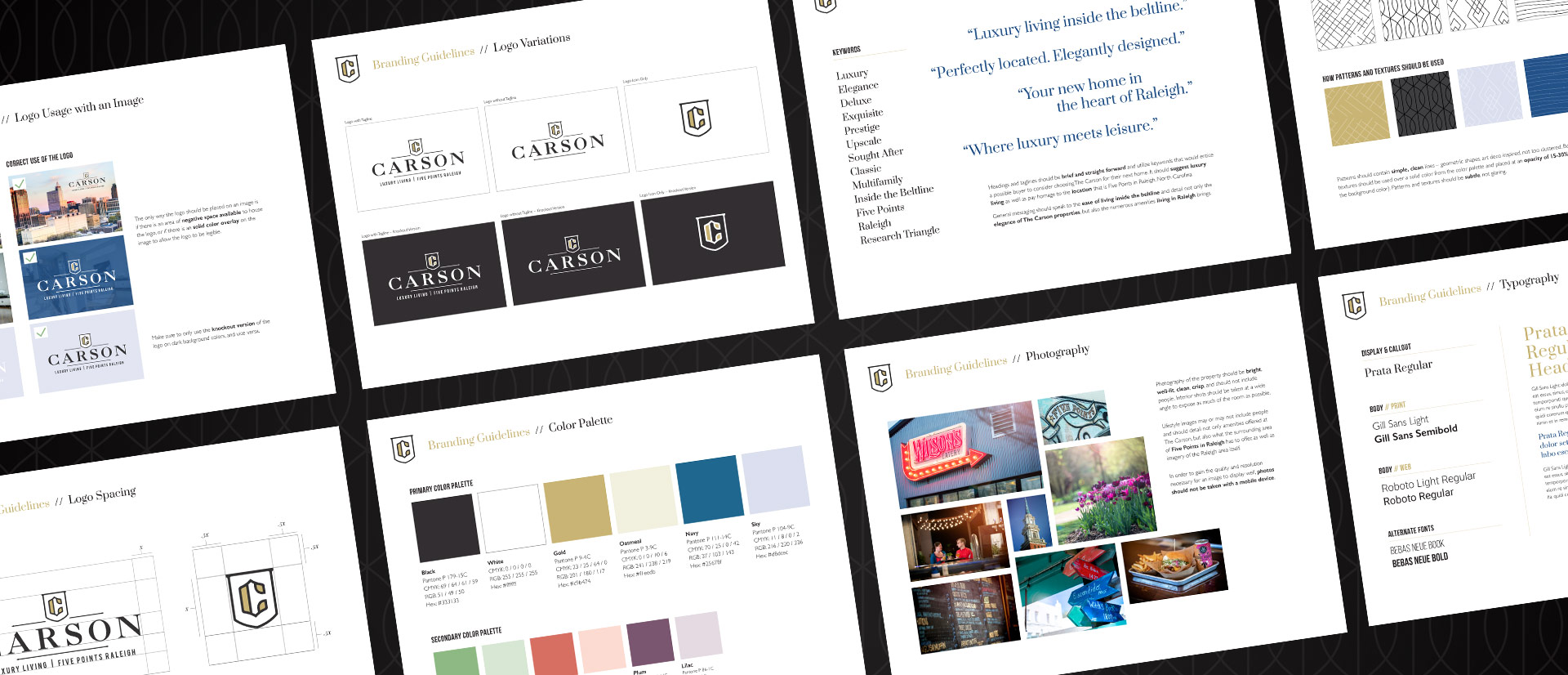 The Carson - Brand Identity by Springer Studios, Raleigh, NC