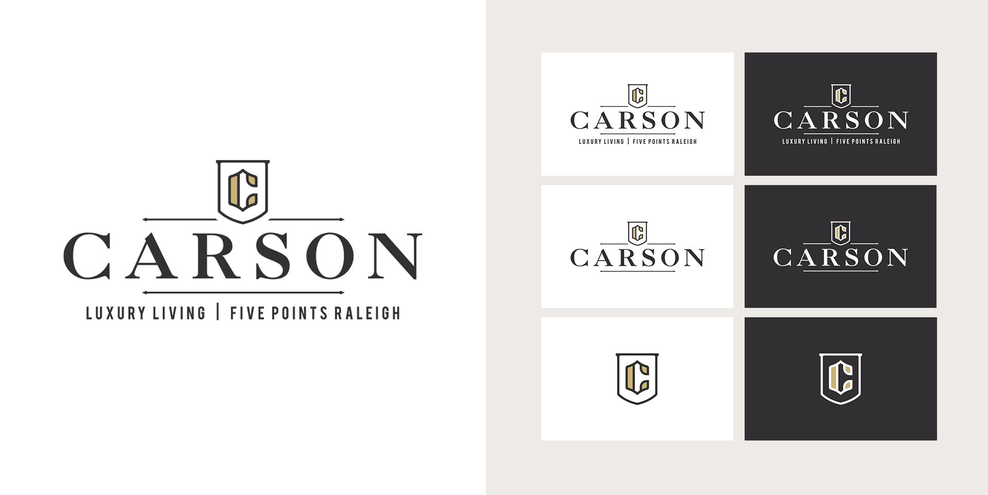 The Carson - Logo Design by Springer Studios, Raleigh, NC