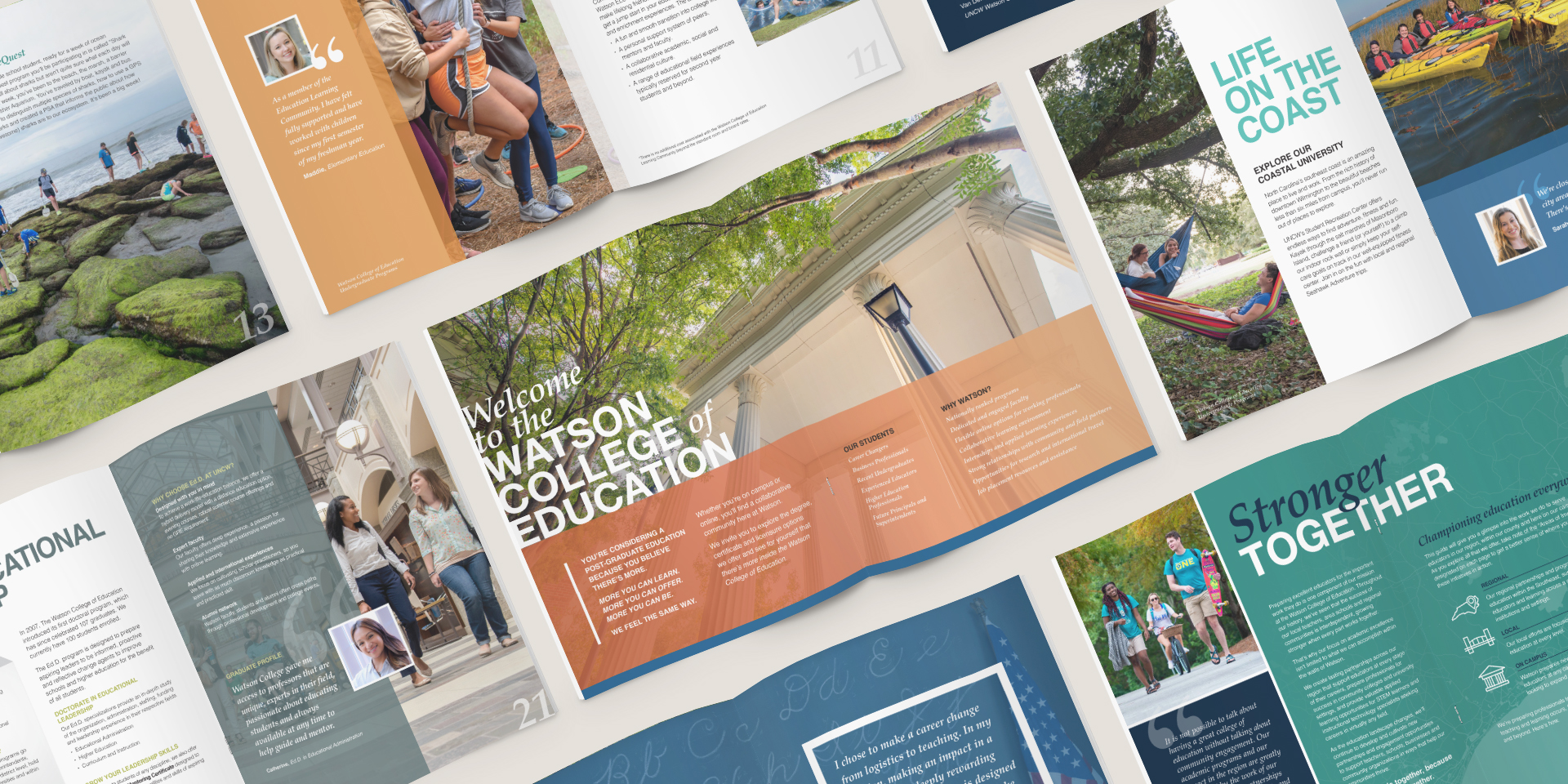 University of North Carolina at Wilmington - Print Marketing by Springer Studios, Wilmington, NC