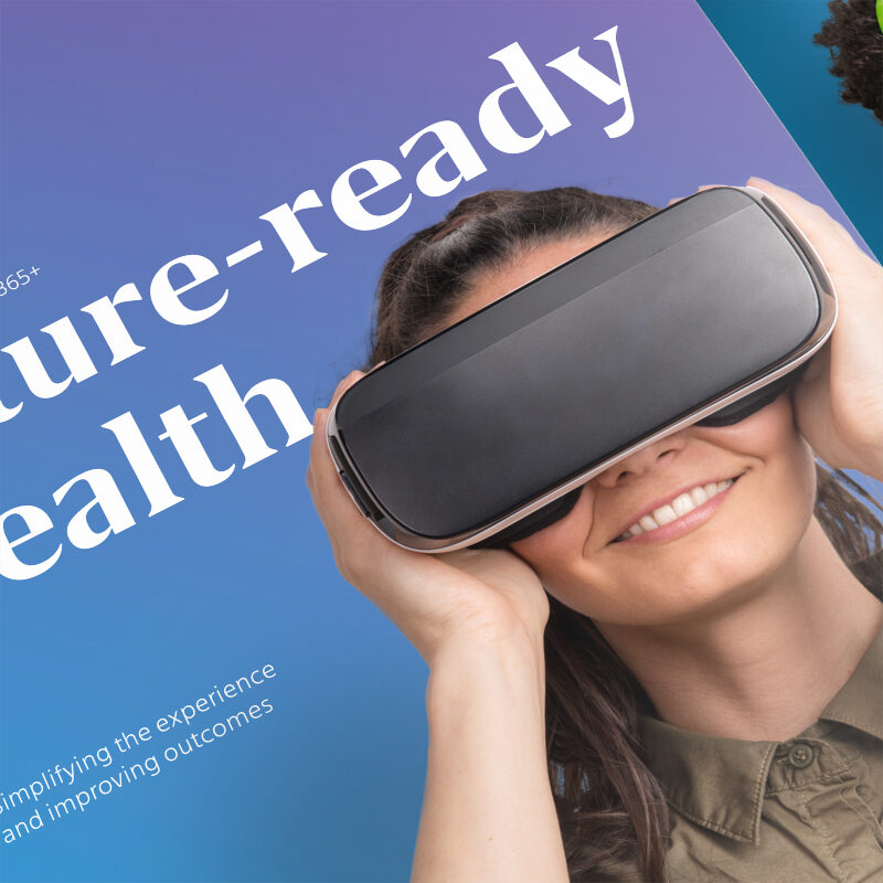 Mercer Health - Print Marketing by Springer Studios, Wilmington, NC