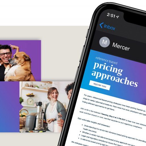 Mercer Health - Email Marketing by Springer Studios, Raleigh, NC