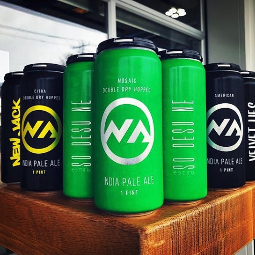 New Anthem Brewing - Graphic Design by Springer Studios, Wilmington, NC